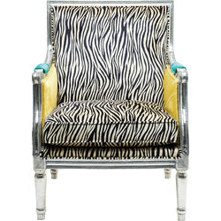 Armchair Regency Zebra
