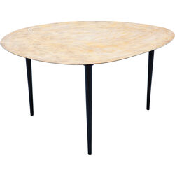 Coffee Table Egg Gold 66x74cm