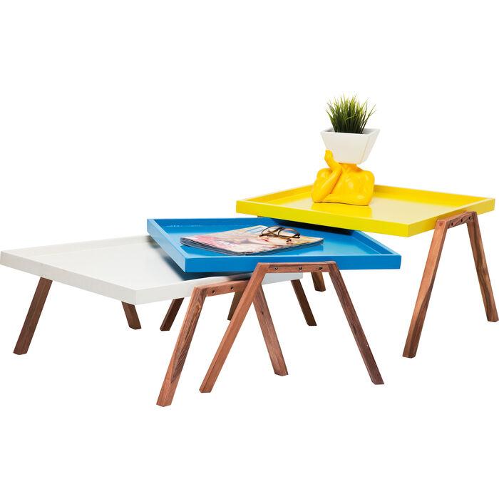 set tables Bilbao Tray KARE Design