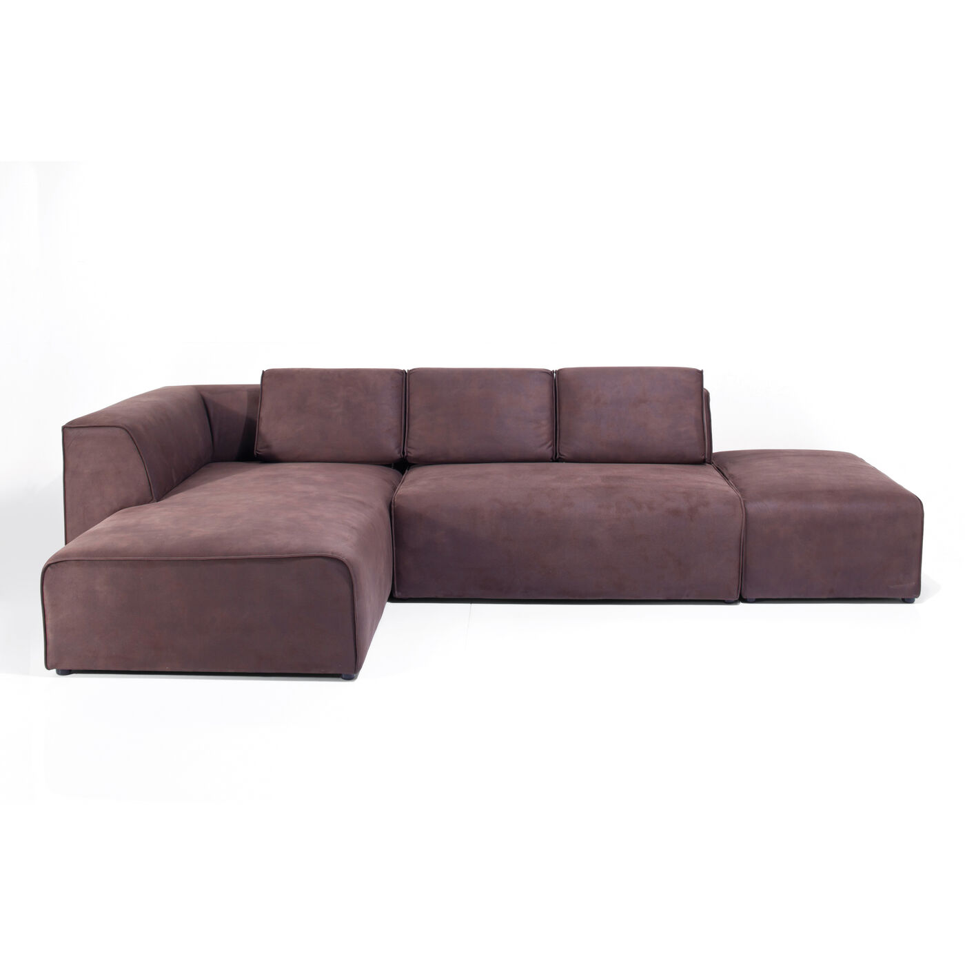 Sofa Infinity Antique 74 Ottomane Left Brown