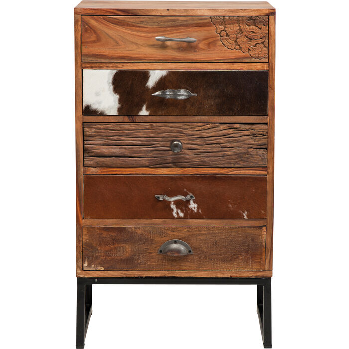 dresser rodeo 5 drw kare design. Black Bedroom Furniture Sets. Home Design Ideas