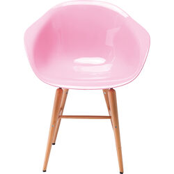Chair with Armrest Forum Wood Rose