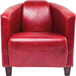 Armchair Cigar Lounge Red