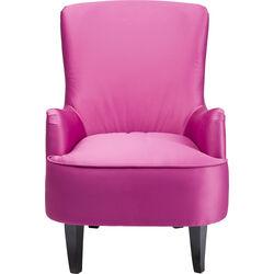 Arm Chair Boudoir Fuchsia