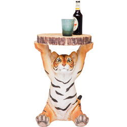Side Table Animal Tiger Ø35cm