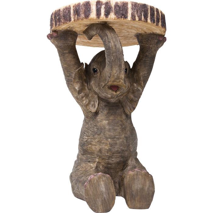 Beistelltisch animal elefant 35cm kare design for Beistelltisch elefant