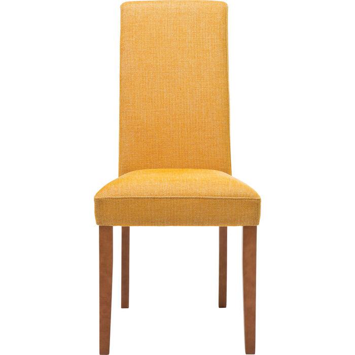 Chaise econo slim rhythm moutarde kare design for Econo meuble