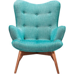 Armchair Angels Wings Rhythm Green