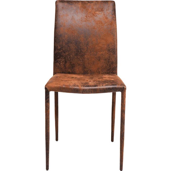 sedia in pelle Milano vintage - KARE Design