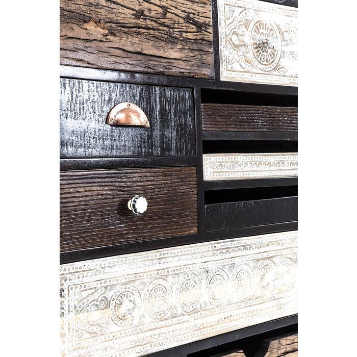 dresser finca 10 drawers kare design. Black Bedroom Furniture Sets. Home Design Ideas