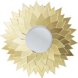 Mirror Sunflower Round Ø120cm