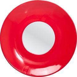 Mirror Channel Red Ø89cm