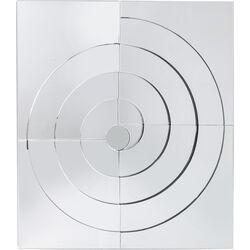 Mirror Swirl 120x138cm