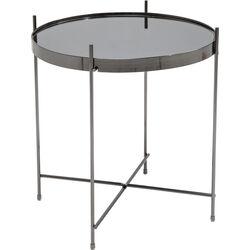 Side Table Blowfeld Black-Chrome Ø43cm
