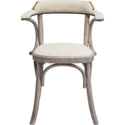 Chair with Armrest Saloon Nature