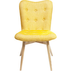 Chair Angel Wings Mustard