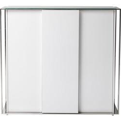 Cabinet Vanity White 3 Doors
