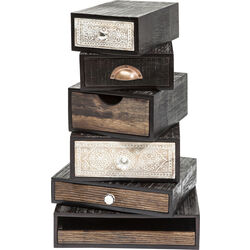 Drawer Tower Finca (6/Set)