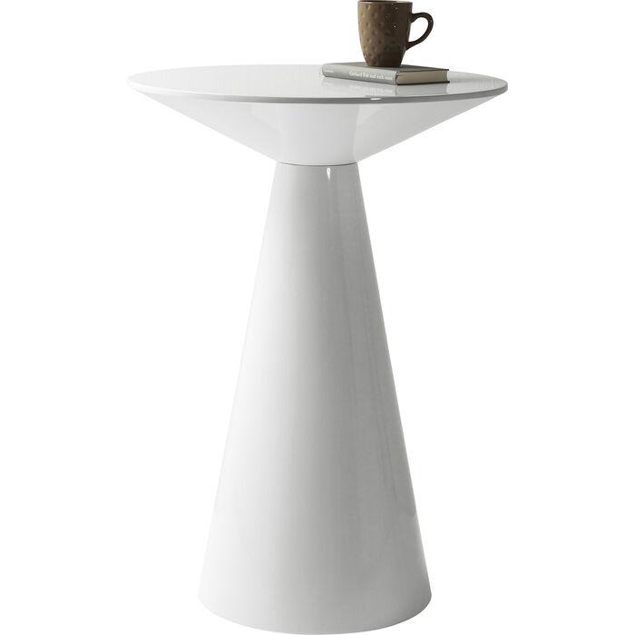 Bar Table Backstage White Glossy Ø70cm