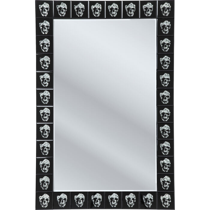Mirror skull movie 120x80cm kare design for Mirror 120 x 80
