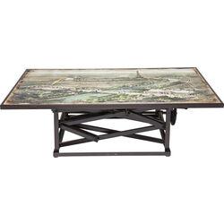Coffee Table Paris Map 140x84cm