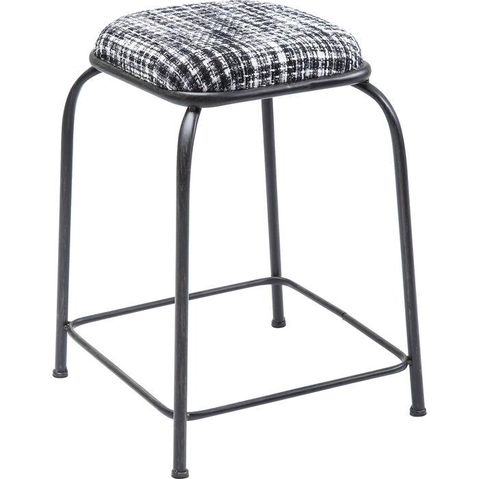 stool campus black and white kare design. Black Bedroom Furniture Sets. Home Design Ideas