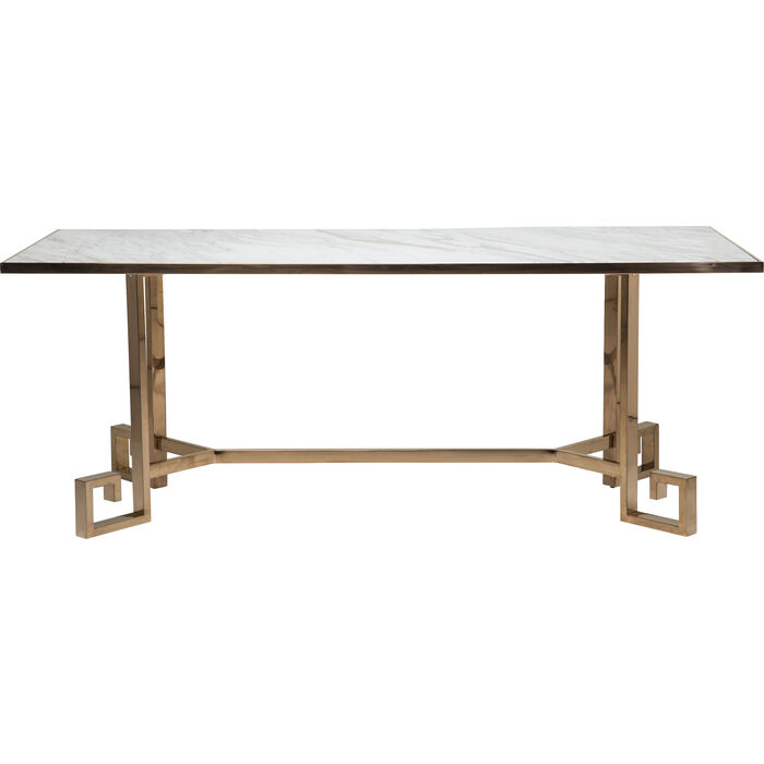 Table jazz 80x200cm rosegold kare design - Table kare design ...