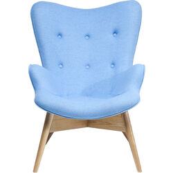 Arm Chair Angels Wings Blue Eco