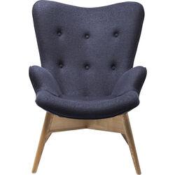 Arm Chair Angels Wings Dark Grey Eco