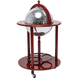 Globe Bar Disco Red