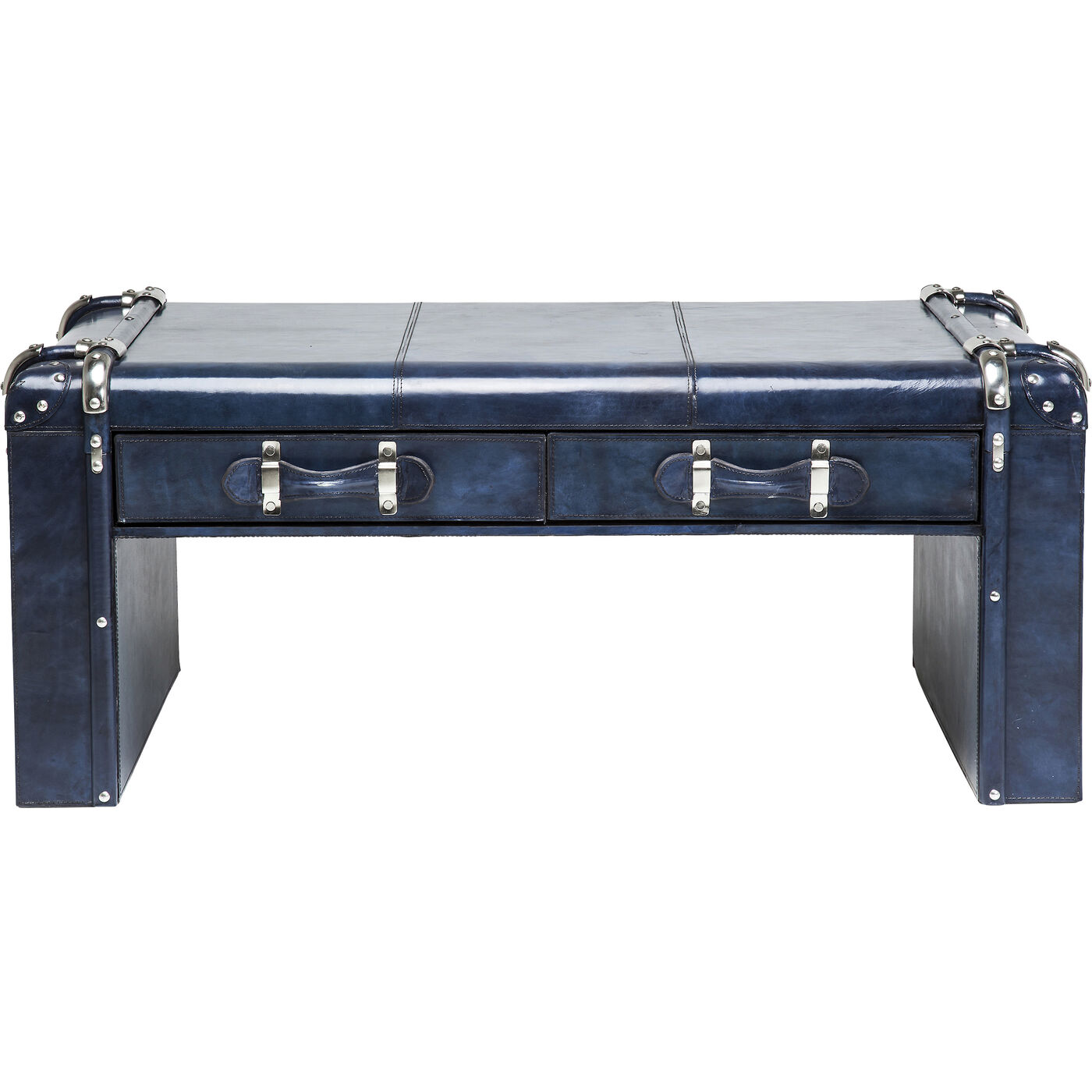 Coffee Table Nautica Blue 110x61cm 2Drw