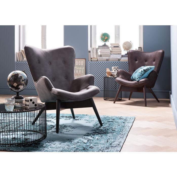 sessel angels wings black brown eco kare design. Black Bedroom Furniture Sets. Home Design Ideas