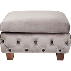 Stool My Desire Velvet Grey