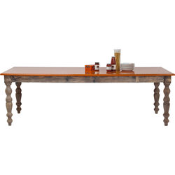 Table Ida Orange 240x100cm