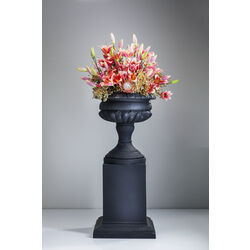 Big Vase Tivissa Black with Base