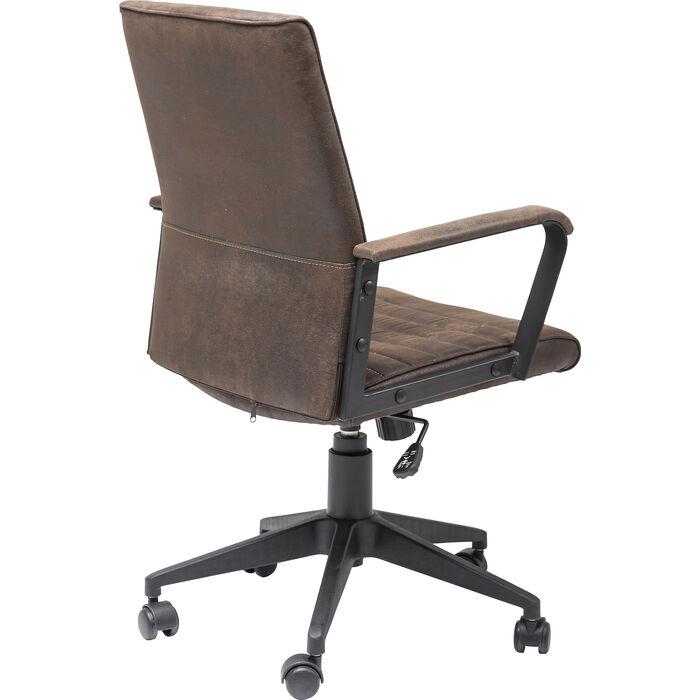 Fice Chair Labora Brown KARE Design