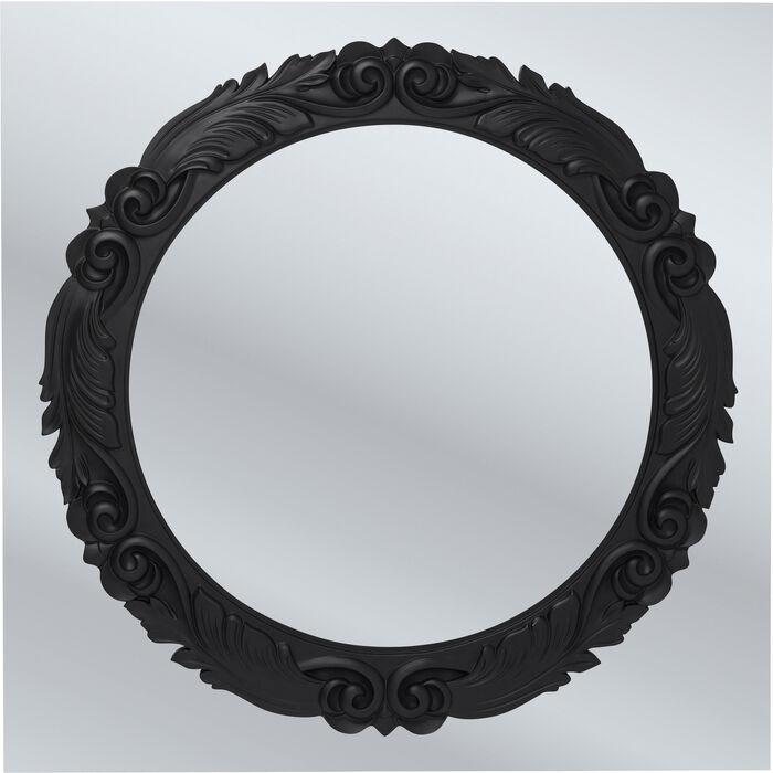Spiegel firenze 120x120cm kare design for Spiegel your name