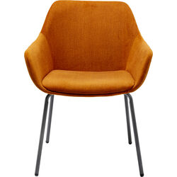 Chair with Armrest Avignon Orange