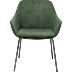 Chair with Armrest Avignon Green