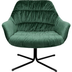 Swivel Armchair Bristol Green