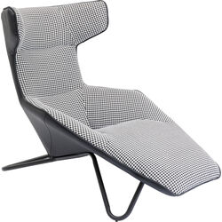 Relaxchair Granada Black White