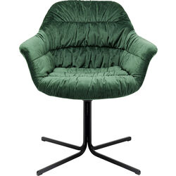 Swivel Armchair Colmar Green