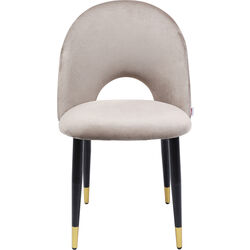 Chair Iris Velvet Beige