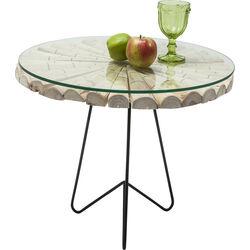 Side Table Flint Stone Nature Ø60cm