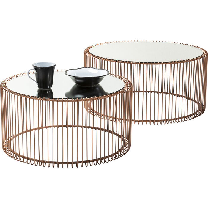 Coffee Table Wire Copper (2/Set)