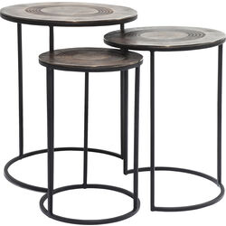 Side Table Marrakesh (3/Set) Ø48cm