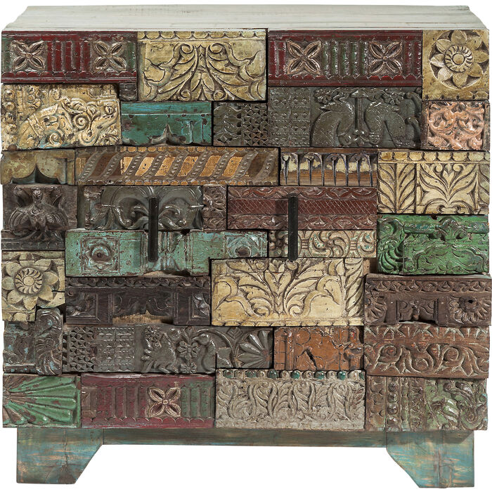 Dresser Shanti Surprise Puzzle 2 Doors Kare Design