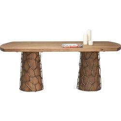 Table Mesh Brass 200x100cm