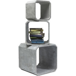Cube Square Concrete (3/Set)