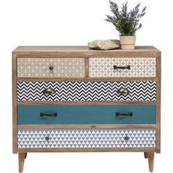 Dresser Capri 5Drw 90cm